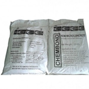 High Strength Microconcrete - 25 Kg