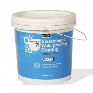 Bituminous Elastomeric Waterproof Coating | Kem Proof 71